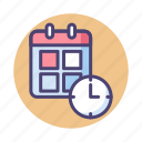appointment, booking, calendar, event, plan, schedule, timetable icon