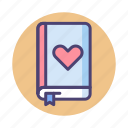 bookmark, favorite, favourite, lessons icon
