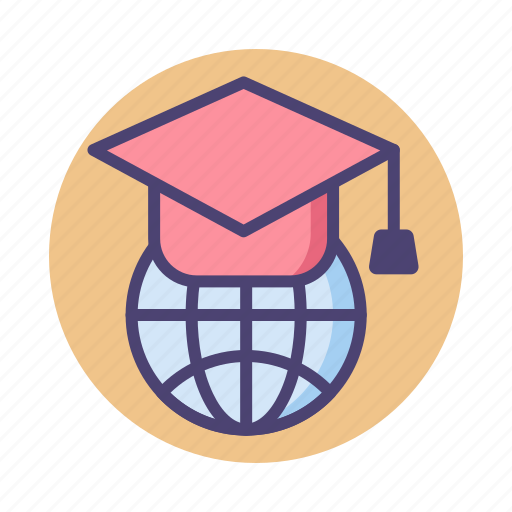 education, global, global education icon