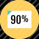 analytics, data, graph, information, report icon