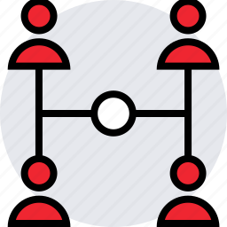 activity, four, internet, online, users icon