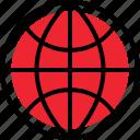 activity, globe, internet, online, wide, world icon