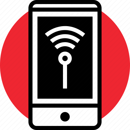 activity, cell, internet, online, phone, signal, wifi icon