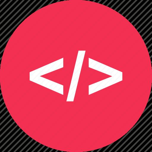 code, development, online, web icon