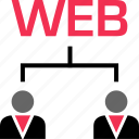 development, online, web icon