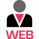 development, online, technology, web icon