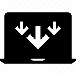 activity, arrows, browsing, down, internet, network, three icon