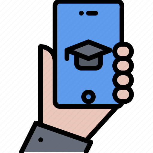 Image result for online learning mobile phone