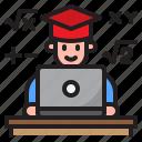 degree, graduate, math, online, learning, education