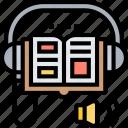 audiobook, listen, literature, library, education