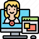 computer, training, teaching, course, instructor
