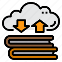 book, cloud, data, exchange, learning