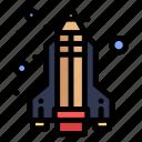pencil, rocket, science