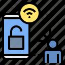 authentication, hack, online access, password, remote, security, unlock