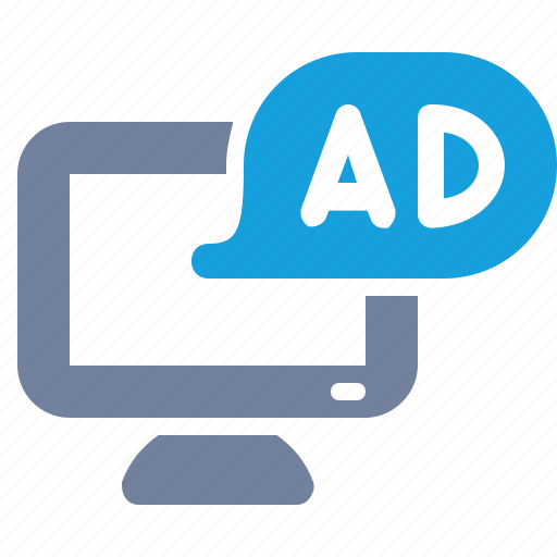 ad, advertisement, computer, marketing, message, monitor, pop-up icon
