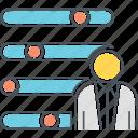 campaign optimization, optimization, user preferences icon
