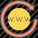 domain authority, domain registration, www icon