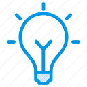 appliances, bulb, energy, home, idea, lamp, power icon