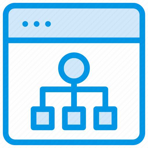 browser, data, datasharing, network, sharing, social, webcontent icon