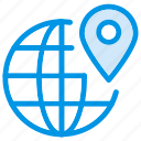earth, global, international, location, navigation, pin, world