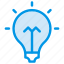 appliances, bulb, eco, electricity, idea, light, power icon