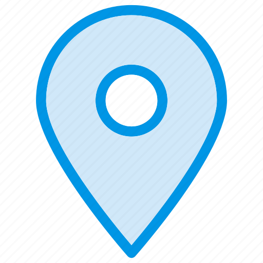 gps, location, map, mark, pin, pinned, pointer icon