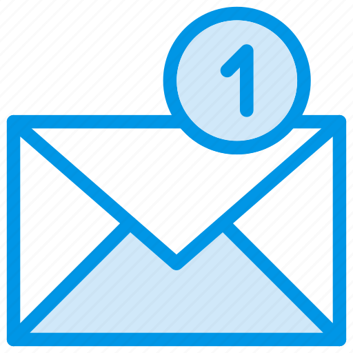email, envelope, mail, message, notification, statement, unread icon