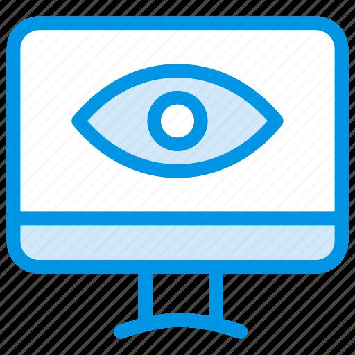 computer, desktop, monitor, pc, screen, television, tv icon