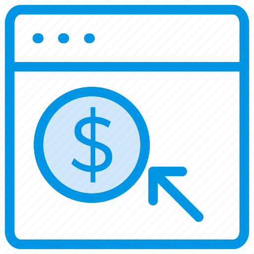 Ppc, payperclick, pay, per, click, mouse, payment icon