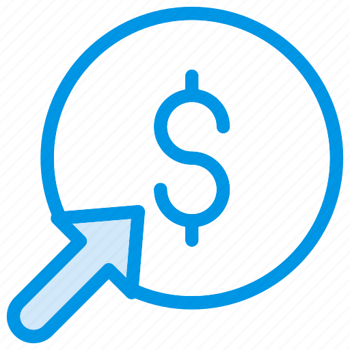 Ppc, business, marketing, per, payment, pay, click icon