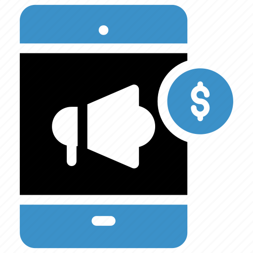 Advertisment, announcement, loud, loudspeaker, megaphone, smartphone, speaker icon - Download on Iconfinder