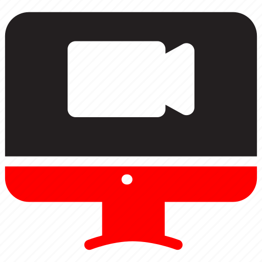 cam, camera, connection, digital, online, technology, video icon