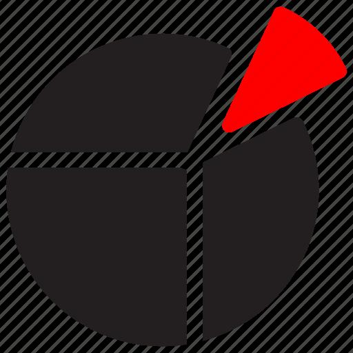 chart, diagram, pie, piechart, piegraph, report, statistics icon