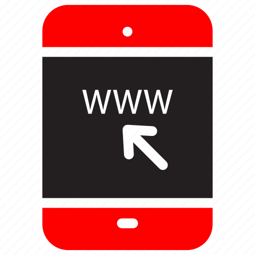 business, data, device, internet, mobile, online, web icon