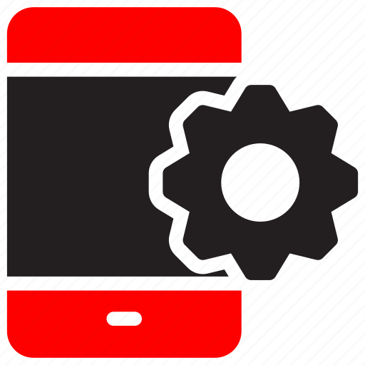 cellphone, configurations, development, gear, mobile, setting, smartphone icon