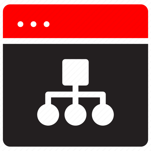 computing, connection, interface, internet, network, web, webpage icon