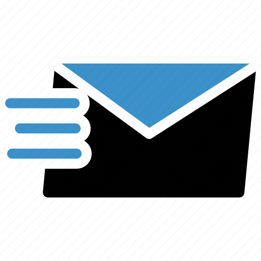Envelope, send, online, mail, message, email icon