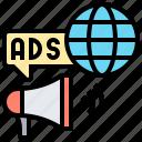 advertising, announce, communication, network, worldwide