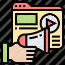 advertisement, digital, marketing, media, website