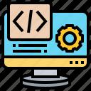 application, coding, computing, processing, web