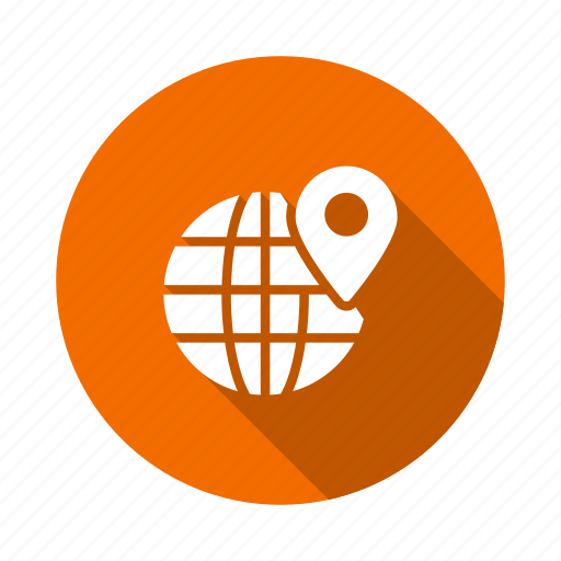 Earth, global, international, location, navigation, pin, world icon - Download on Iconfinder