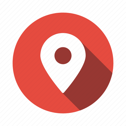 Map, pin, mark, pinned, location, pointer, gps icon