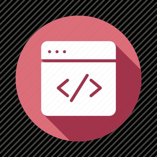 code, coding, developers, development, script, service, web icon