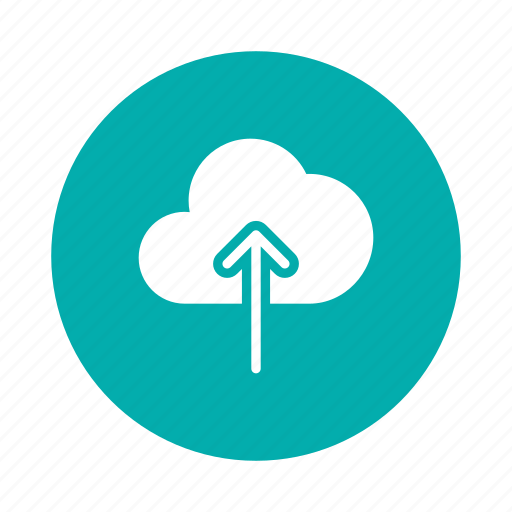 Arrow, cloud, computing, data, save, up, upload icon - Download on Iconfinder