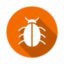 bug, insect, insert, ladybug, nature, trojan, virus icon