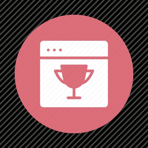 award, creative, design, graphic, marketing, web, winner icon