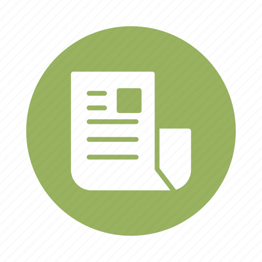 blog, dailynews, information, news, newspaper, paper, survey icon