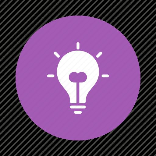 Office, business, light, creativity, idea, creative, lamp icon