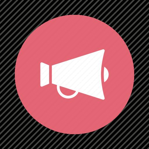 advertising, advertisment, announcement, loud, megaphone, sound, speaker icon