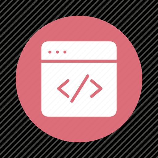 Code, coding, developers, development, script, service, web icon - Download on Iconfinder